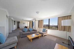 Апартаменты с 2 спальнями — Вид на город
