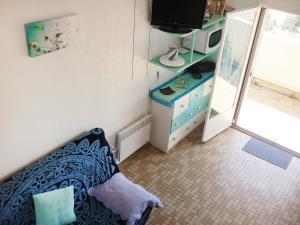 Apartment Résidence Les Hibiscus, Ferienwohnungen  Le Grau-d'Agde - big - 9