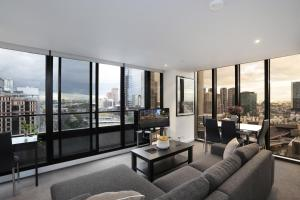 Aura on Flinders Serviced Apartments, Residence  Melbourne - big - 5