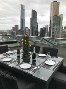 Aura on Flinders Serviced Apartments, Aparthotels  Melbourne - big - 13
