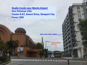 Studio Condo Near Manila Airport (Cluster B-6i), Apartments  Manila - big - 5
