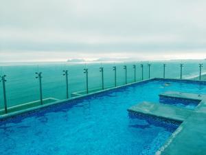 Exclusivo Departamento Con Vista Al Mar, Appartamenti  Lima - big - 7