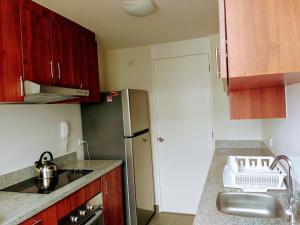 Exclusivo Departamento Con Vista Al Mar, Appartamenti  Lima - big - 4