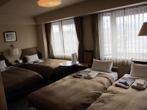 Hotel New Station, Отели эконом-класса  Мацумото - big - 17