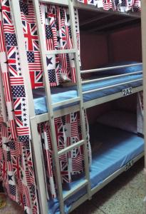 Bed in 12-Bed Mixed Dormitory Room with Air Conditioning