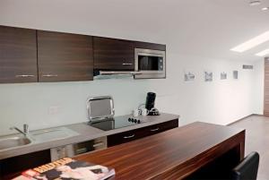 Boardinghouse Bielefeld, Aparthotely  Bielefeld - big - 11