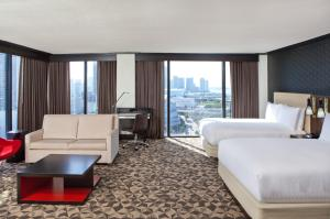 Junior Queen Suite with Two Queen Beds