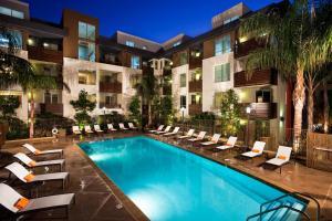 Popular Hollywood Walk of Fame Penthouse, Appartamenti  Los Angeles - big - 4