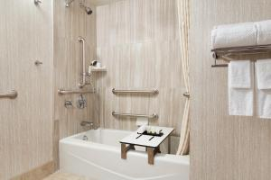 Queen Suite with Bath Tub - Disability/Hearing Access