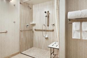 Queen Suite with Roll-In Shower - Disability/Hearing Access