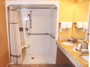 Queen Room with Two Queen Beds - roll in shower