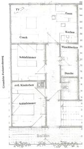 Haus am Wald, Apartmány  Baiersbronn - big - 57