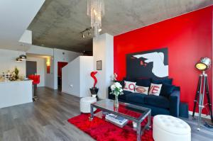 Popular DTLA Designer Suite With Massive Views, Apartmány  Los Angeles - big - 17