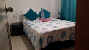 Habitaciones en Medellín (Apartahotel Ferjaz), Гостевые дома  Медельин - big - 53
