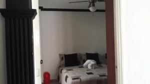 Habitaciones en Medellín (Apartahotel Ferjaz), Гостевые дома  Медельин - big - 66