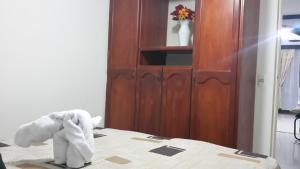 Habitaciones en Medellín (Apartahotel Ferjaz), Гостевые дома  Медельин - big - 164