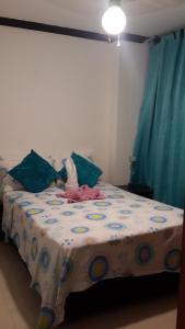 Habitaciones en Medellín (Apartahotel Ferjaz), Гостевые дома  Медельин - big - 59