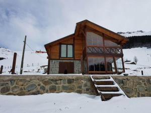 Azra Dağ Evi̇, Alpesi faházak  Güzelce - big - 22