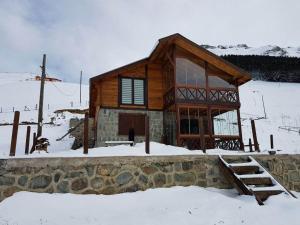 Azra Dağ Evi̇, Alpesi faházak  Güzelce - big - 23