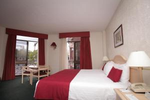 Double Room with Two Double Beds and Balcony- Non-Smoking