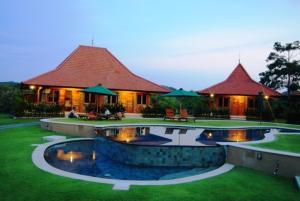 Three Monkeys Villas, Комплексы для отдыха с коттеджами/бунгало  Улувату - big - 25