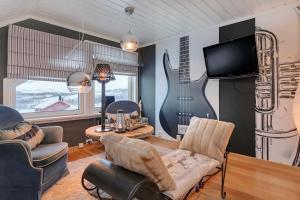 Chata RIBO Apartment Katterjåkk Riksgränsen Švédsko