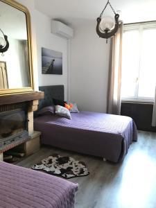 Les 2 Alpes, Отели типа «постель и завтрак»  Puget-Théniers - big - 3