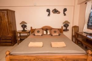 Dvoulůžkový pokoj Deluxe s manželskou postelí