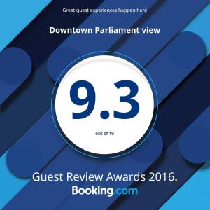 Downtown Parliament view, Apartmanok  Budapest - big - 31