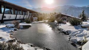 Kaysers Tirolresort – Wohlfühlhotel für Erwachsene, Hotels  Mieming - big - 43