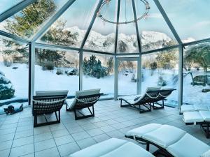 Kaysers Tirolresort – Wohlfühlhotel für Erwachsene, Hotels  Mieming - big - 41