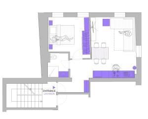 Apartments Dalmacija, Apartmanok  Omiš - big - 22