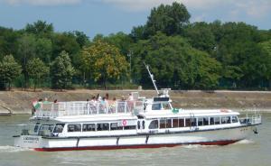 Aquamarina Hotel, Imbarcazioni  Budapest - big - 52