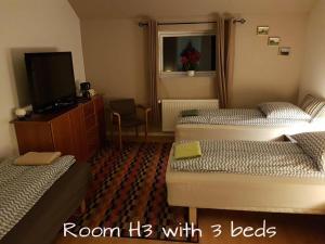 Seng og Kaffe B&B, Отели типа «постель и завтрак»  Fårvang - big - 34