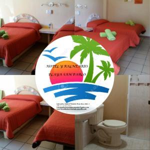 Hotel y Balneario Playa San Pablo, Отели  Monte Gordo - big - 283