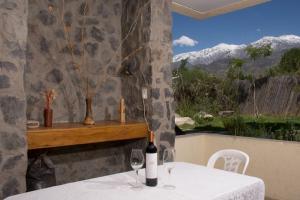 Las Espuelas Casas de Montaña, Chaty v prírode  Potrerillos - big - 10