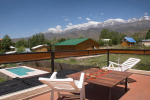 Las Espuelas Casas de Montaña, Chaty v prírode  Potrerillos - big - 40
