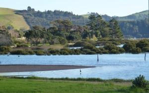 Oystercatcher Bay Boathouse, Шале  Coromandel Town - big - 23