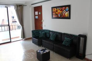 Habitaciones en Medellín (Apartahotel Ferjaz), Гостевые дома  Медельин - big - 134