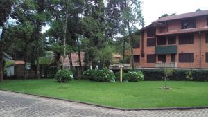 Apartamento 01 dormitório no Centro de Gramado, Апартаменты  Грамаду - big - 3