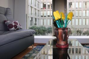 Puerta Alameda Suites, Apartmány  Mexico City - big - 56
