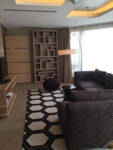 Studio narożne typu Residence z 1 sypialnią i widokiem na park