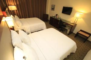 Double Room with 2 Double Beds - Non-Smoking