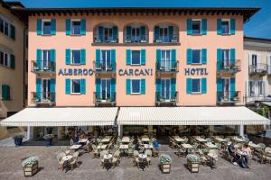 Albergo Carcani, Hotely  Ascona - big - 27