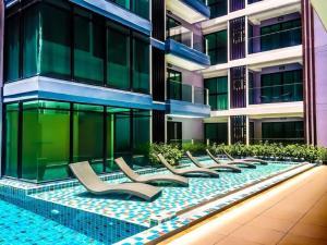 Siam Oriental Tropical Garden Apartments, Apartmány  Pattaya South - big - 23