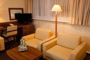 Hotel Bukowy Dworek Geovita, Отели  Лагув - big - 21