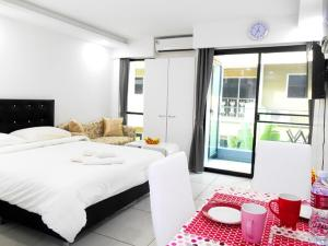 Siam Oriental Tropical Garden Apartments, Apartmány  Pattaya South - big - 16