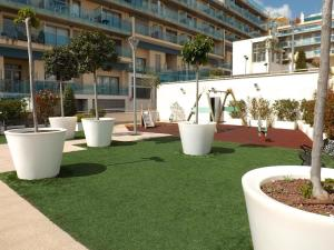 Apartamento Borumbot 26, Apartments  Calpe - big - 11