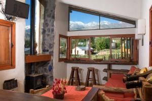 Las Espuelas Casas de Montaña, Chaty v prírode  Potrerillos - big - 30