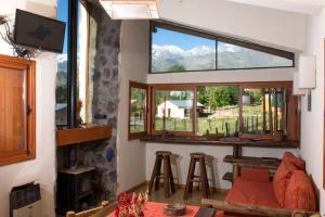 Las Espuelas Casas de Montaña, Chaty v prírode  Potrerillos - big - 24
